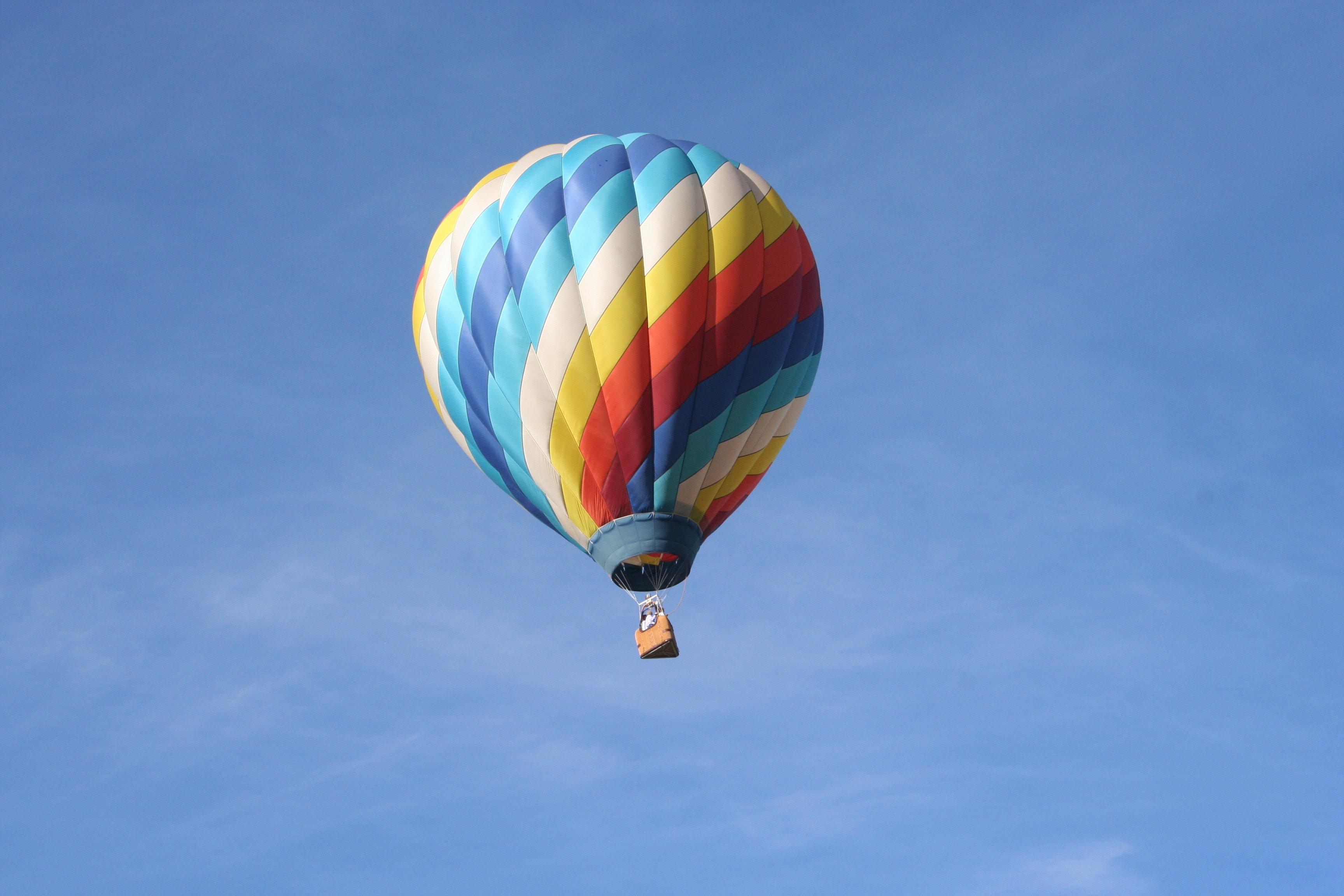 zbor cadou cu balonul