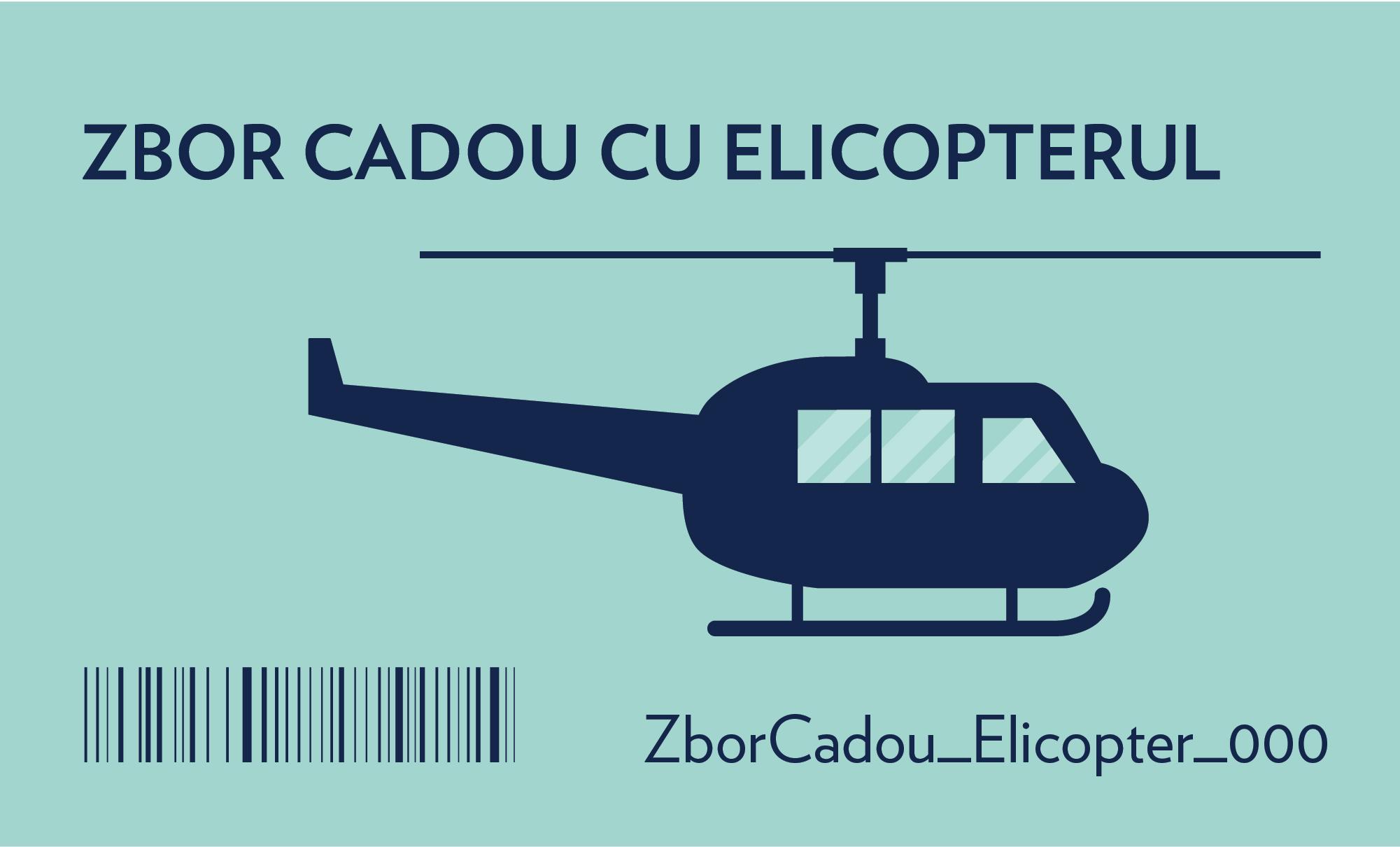 zbor cadou cu elicopterul